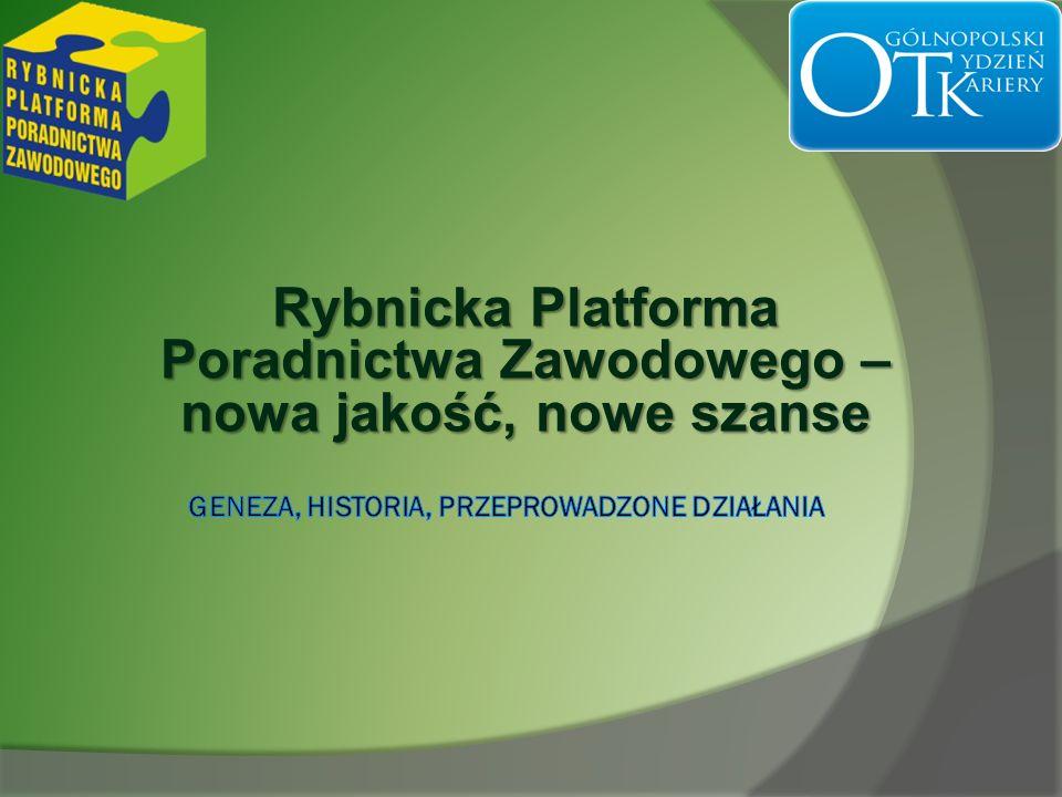 Rybnicka Platforma Poradnictwa Zawodowego – nowa jakość, nowe szanse