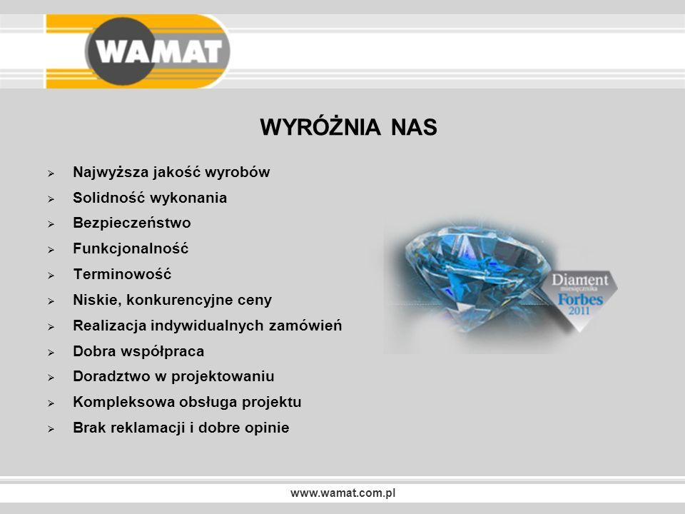 www.wamat.com.pl NASZE REALIZACJE Trybuny teleskopowe TW-2 WSNHiD W POZNANIU