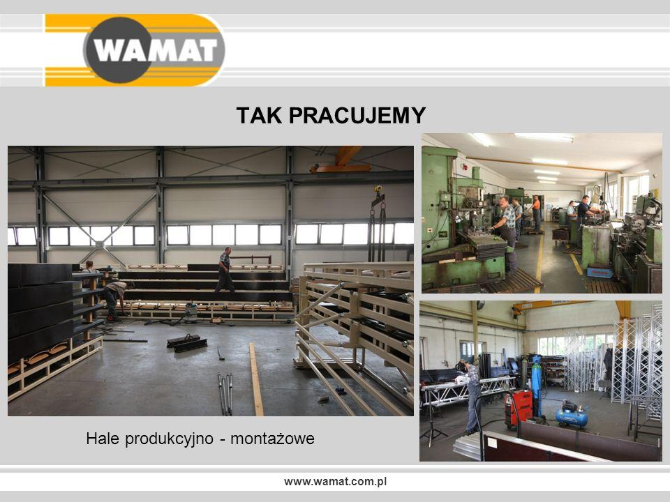 www.wamat.com.pl NASZE REALIZACJE Trybuny teleskopowe TW-2 MATECZNIK MAZOWSZE OTRĘBUSY