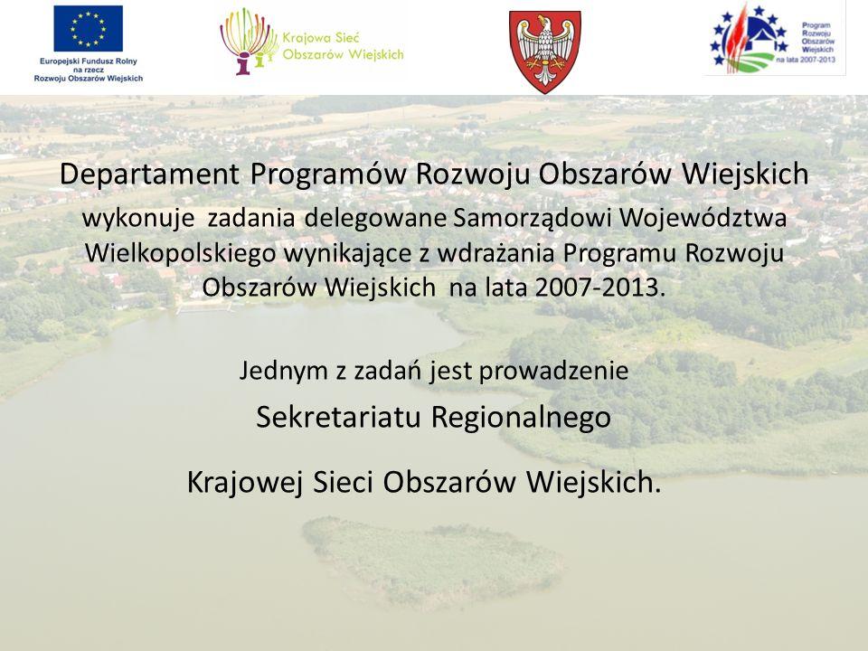 Podstawa prawna utworzenia Krajowej Sieci Obszarów Wiejskich (KSOW) Prawo krajowe Art.