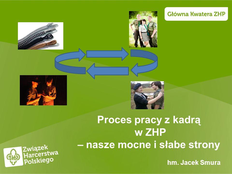 Proces pracy z kadrą w ZHP – nasze mocne i słabe strony hm. Jacek Smura