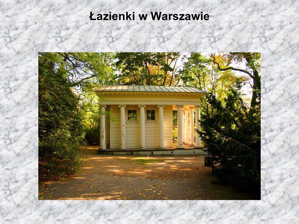 Łazienki w Warszawie
