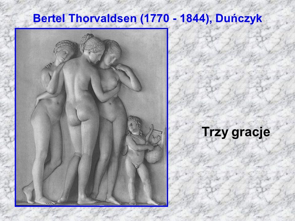 Bertel Thorvaldsen (1770 - 1844), Duńczyk Trzy gracje