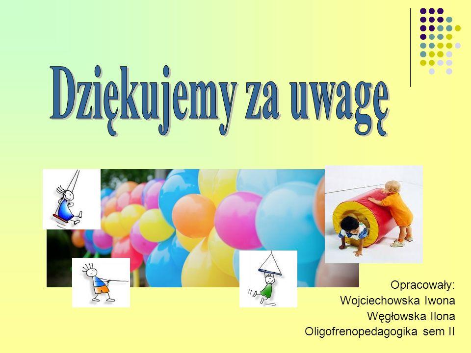 Opracowały: Wojciechowska Iwona Węgłowska Ilona Oligofrenopedagogika sem II