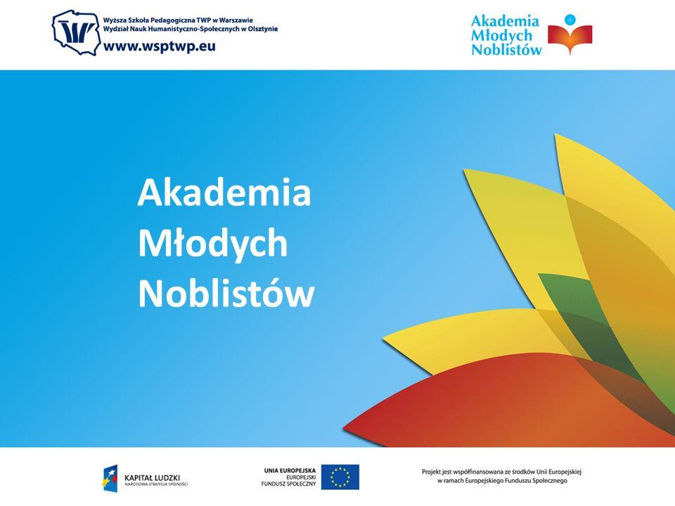 Projekt jest współfinansowany ze środków Unii Europejskiej w ramach Priorytetu III Wysoka jakość systemu oświaty, 3.3.