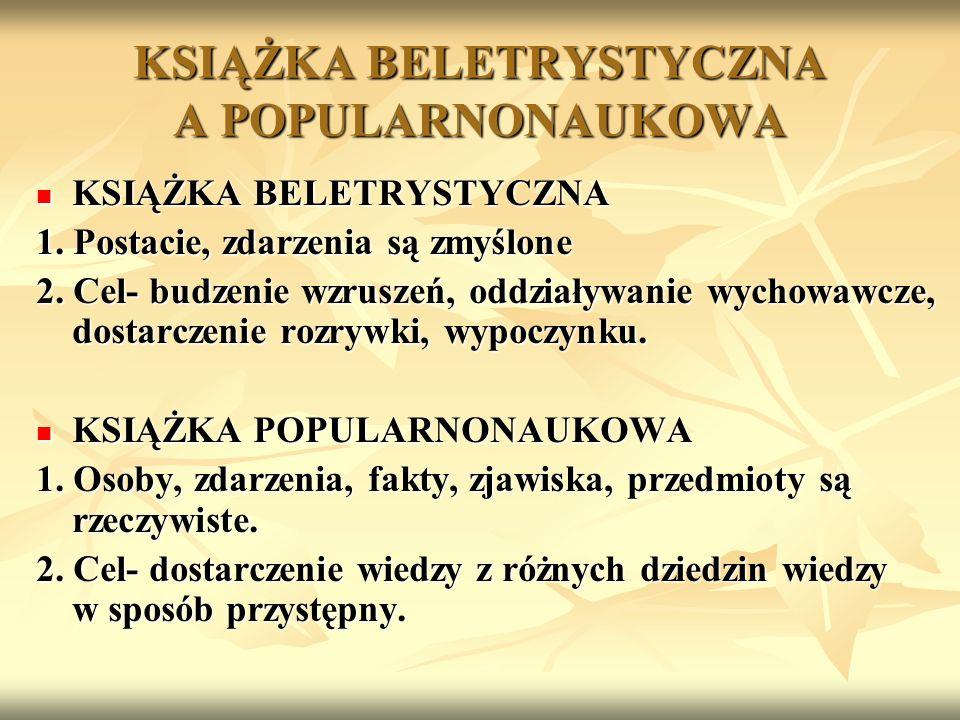 KSIĄŻKA BELETRYSTYCZNA KSIĄŻKA BELETRYSTYCZNA Grabowski S., Nejman M.: Przygody kota Filemona.Warszawa 1989 Grabowski S., Nejman M.: Przygody kota Filemona.Warszawa 1989 KSIĄŻKA POPULARNONAUKOWA KSIĄŻKA POPULARNONAUKOWA TEMAT - KOTY Koty i kocięta : przewodnik po rasach.