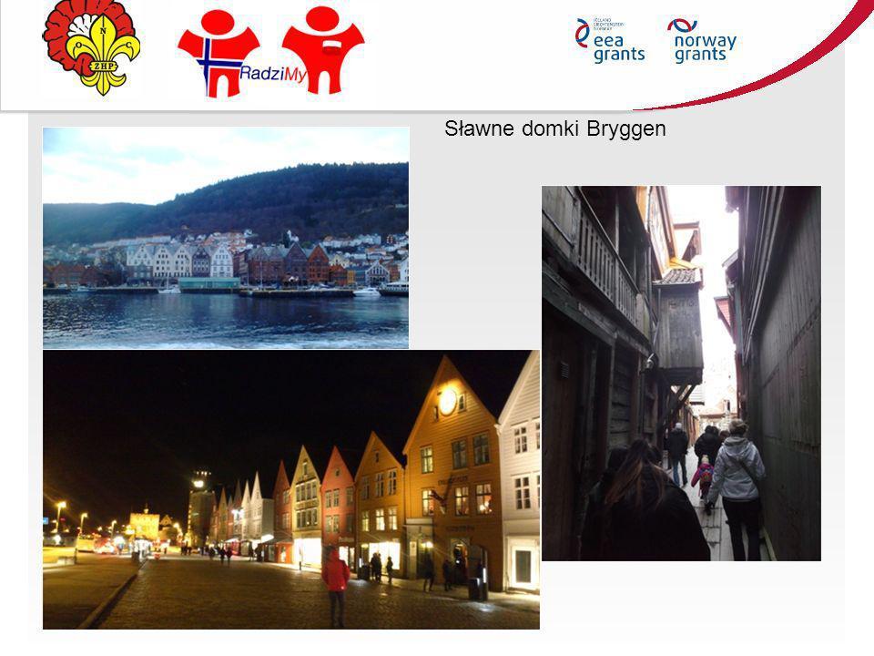 Sławne domki Bryggen