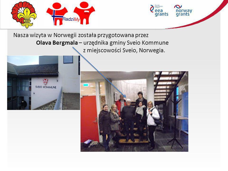 Nasza wizyta w Norwegii została przygotowana przez Olava Bergmala – urzędnika gminy Sveio Kommune z miejscowości Sveio, Norwegia.