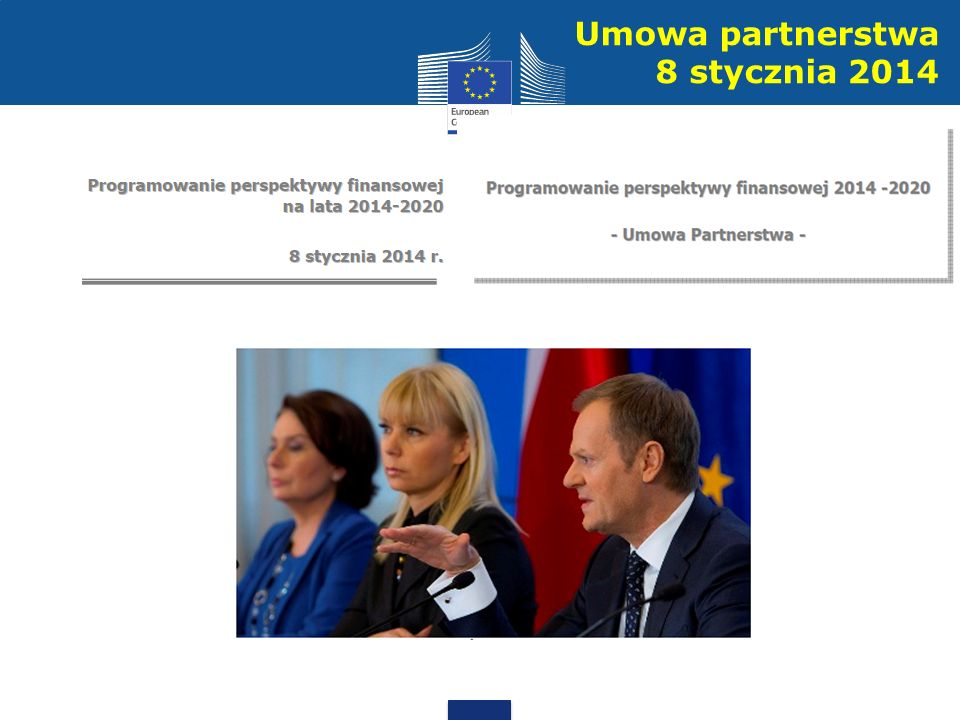 Umowa partnerstwa 8 stycznia 2014