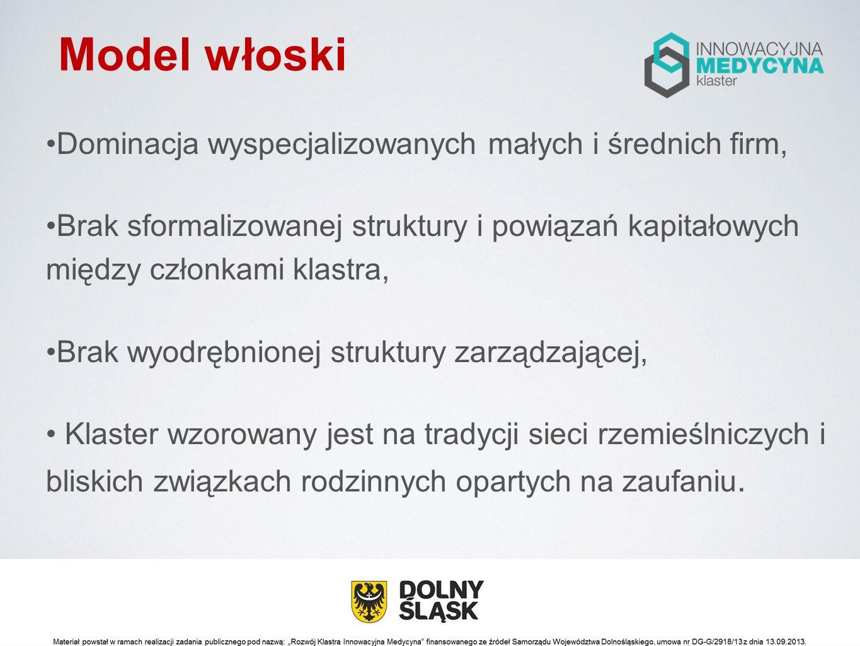 Model holenderski Zmodyfikowana wersja modelu duńskiego, Eksponuje rolę współpracy z instytucjami naukowymi i badawczo-rozwojowymi w koordynacji prac brokera sieciowego oraz aktywną politykę rządu lub administracji.