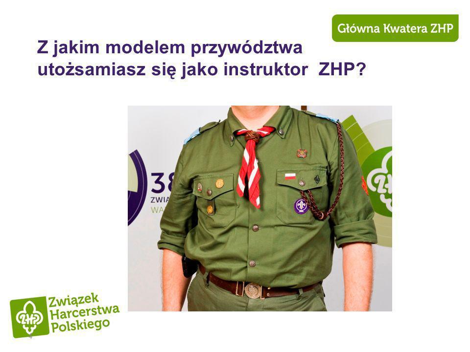 4 Z jakim modelem przywództwa utożsamiasz się jako instruktor ZHP?