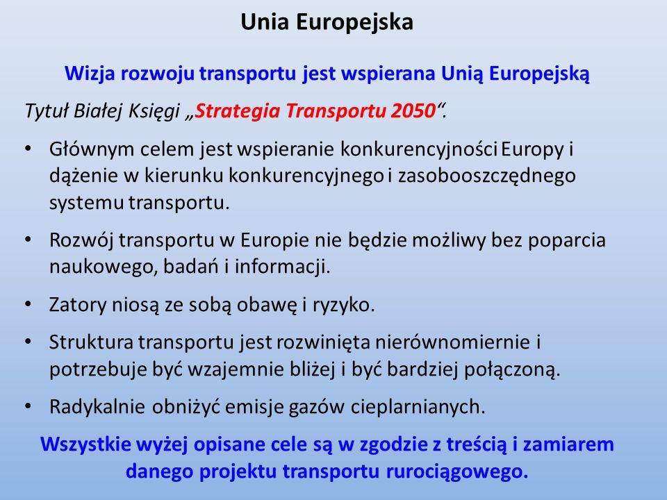 Przewidywane zaludnienie części Europy w 2500 r. możliwe trasy