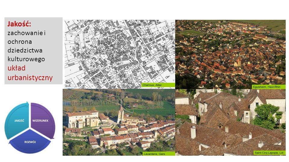 Jakość: zachowanie i ochrona dziedzictwa kulturowego układ urbanistyczny 4