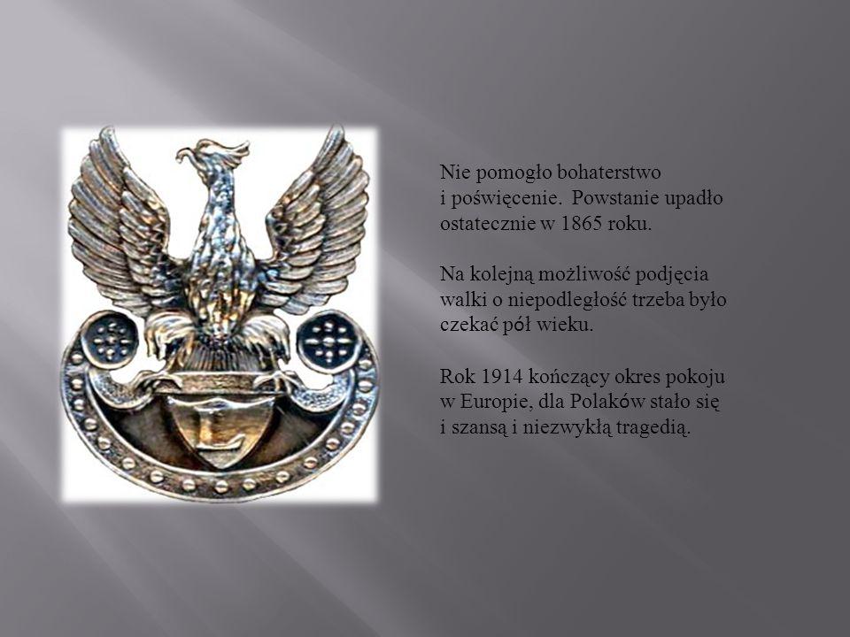 Bohaterem wydarzeń I wojny światowej był J ó zef Piłsudski - dow ó dca Pierwszej Brygady, a następnie Naczelnik Państwa - symbol bojownika o wolność niepodległej Polski.