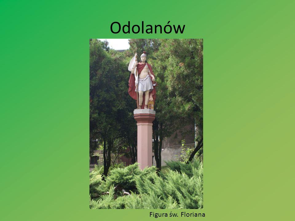 Odolanów Figura św. Floriana