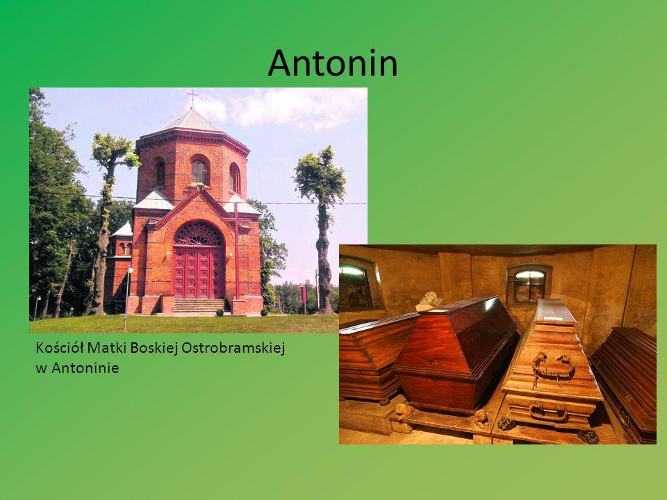 Antonin Kościół Matki Boskiej Ostrobramskiej w Antoninie