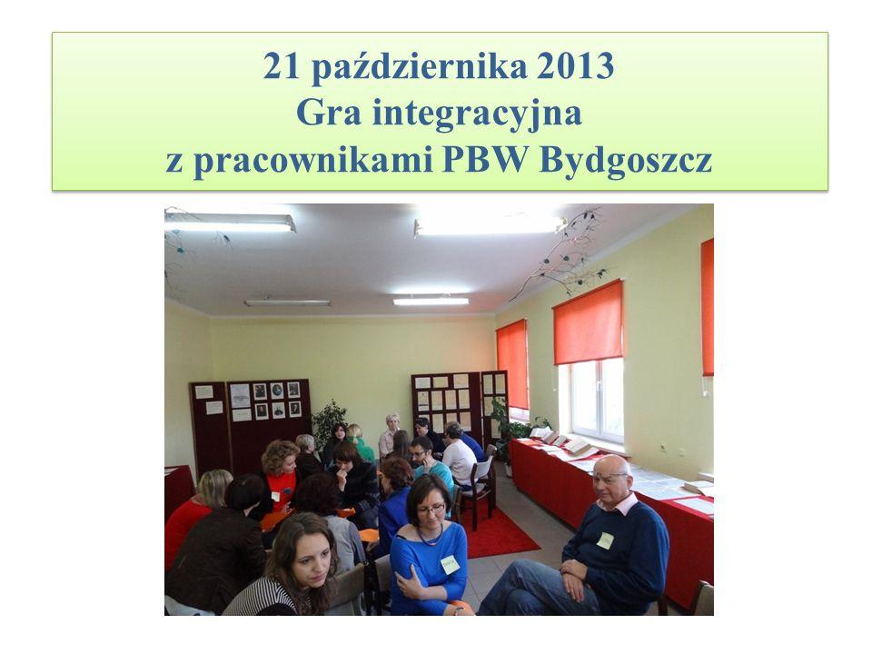 26 listopada 2013 Promocja Pedagogicznej Biblioteki Wojewódzkiej na Uniwersytecie Kazimierza Wielkiego w Bydgoszczy