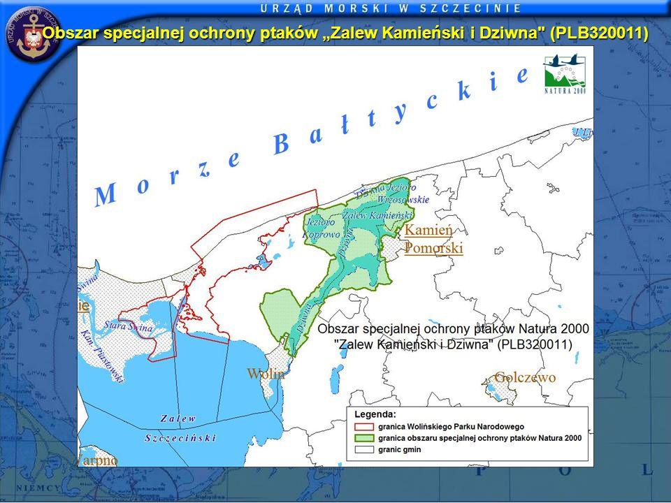 Obszar specjalnej ochrony ptaków Zalew Kamieński i Dziwna