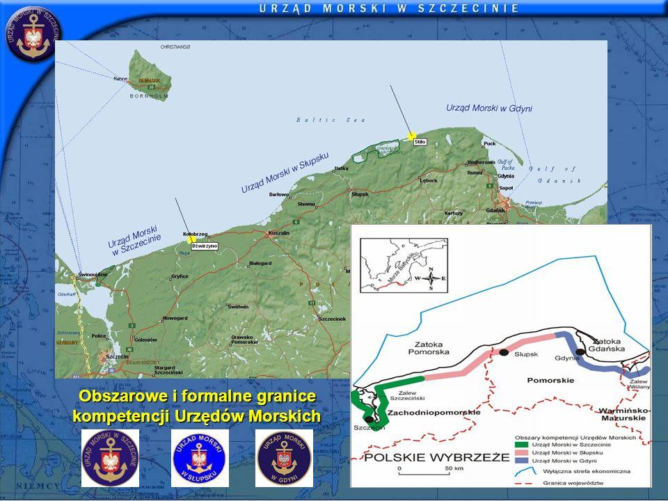 Obszarowe i formalne granice kompetencji Urzędów Morskich