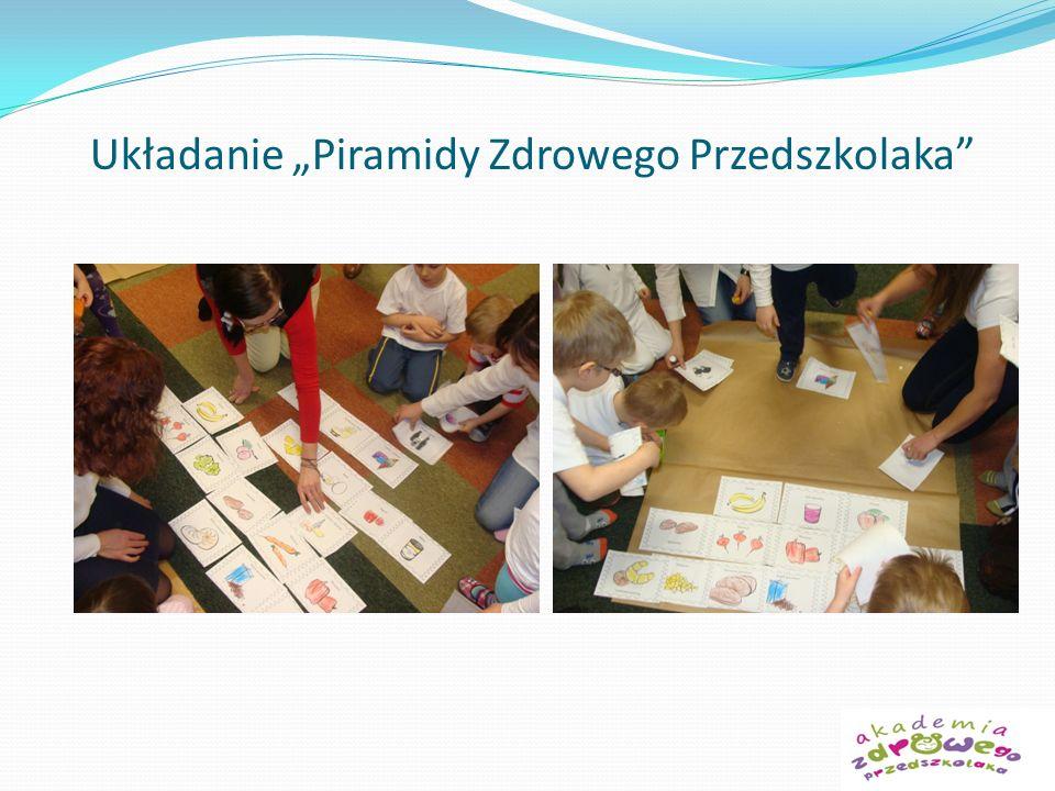 Układanie Piramidy Zdrowego Przedszkolaka