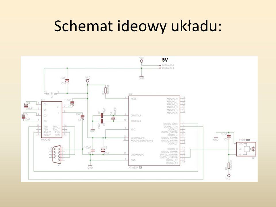 Schemat ideowy układu: