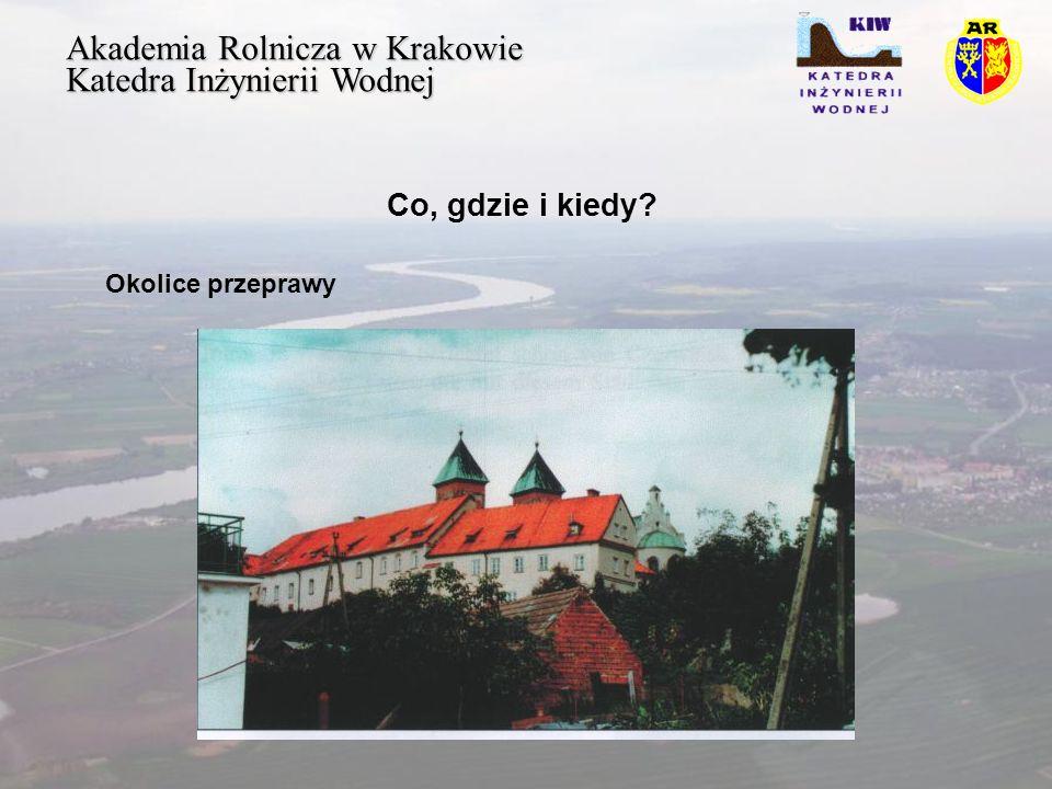 Akademia Rolnicza w Krakowie Katedra Inżynierii Wodnej Ogólna sytuacja Spotkanie sił polskich i litewskich musiało być dobrze skoordynowane, siły Księcia Witolda stanowiły osłonę polskiej przeprawy
