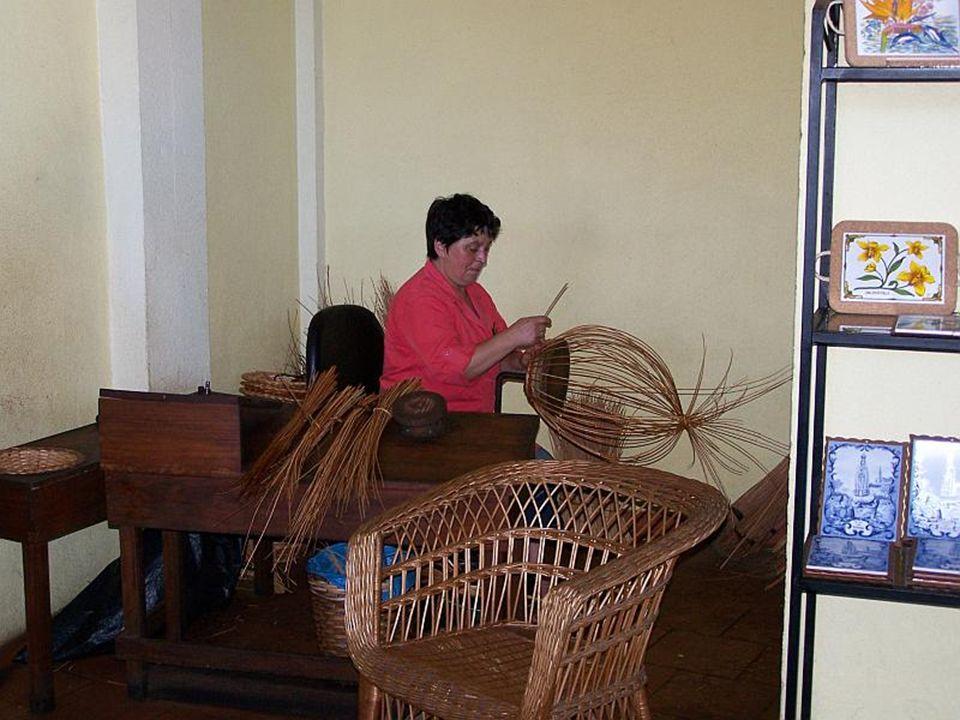 Camacha jest centrum wikliniarstwa wyspy