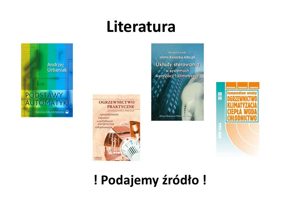 Literatura ! Podajemy źródło !