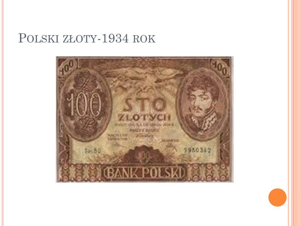P OLSKI ZŁOTY -1934 ROK