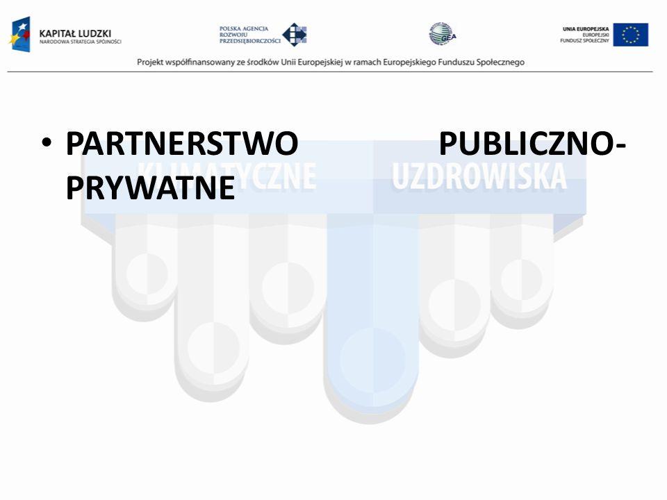 PARTNERSTWO PUBLICZNO- PRYWATNE