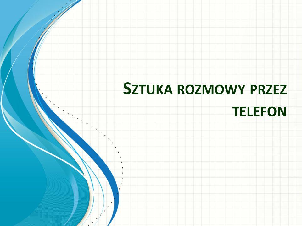 S ZTUKA ROZMOWY PRZEZ TELEFON
