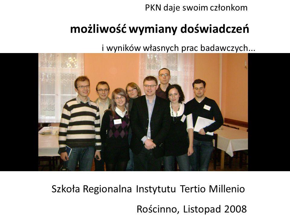 Projekty 2008/2009: debata z kandydatami na posłów do Parlamentu Europejskiego Konferencja naukowa nt.
