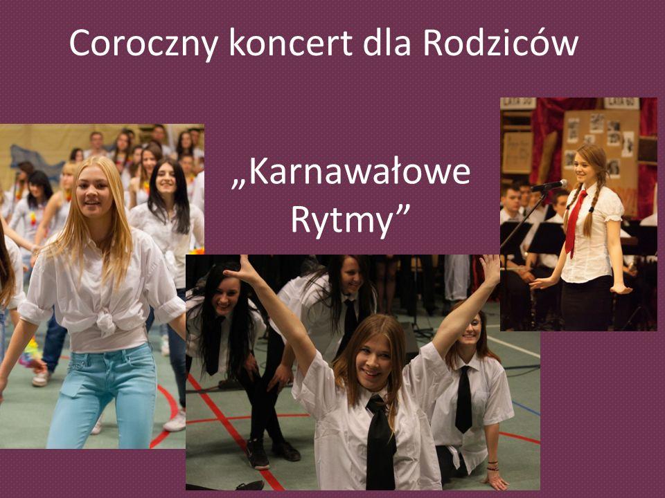 Coroczny koncert dla Rodziców Karnawałowe Rytmy