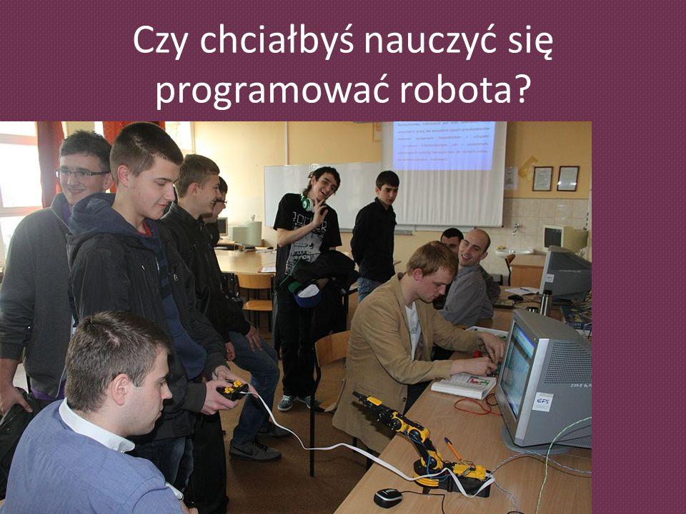 Czy chciałbyś nauczyć się programować robota?