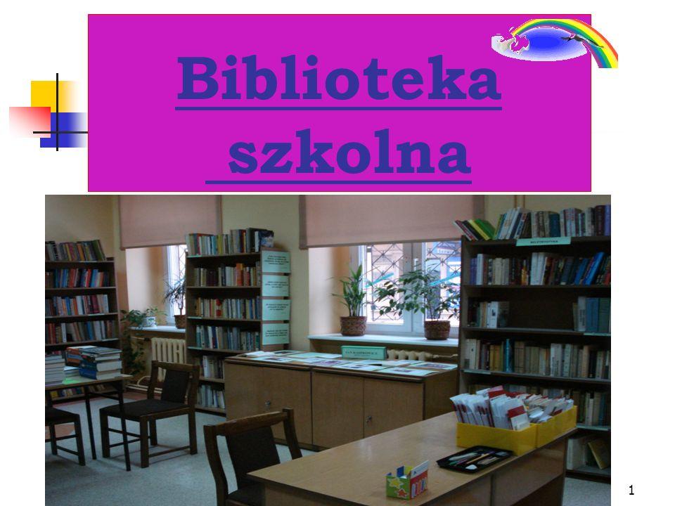 1 Biblioteka szkolna