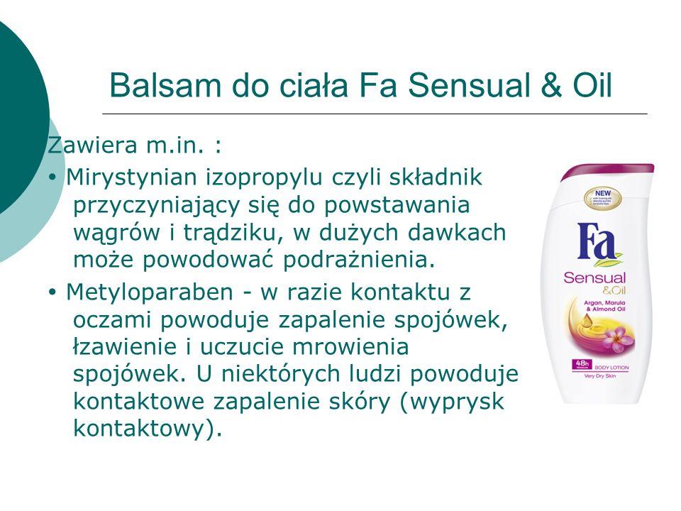 Bibliografia : http://www.bangla.pl/opinie/p28942/garnier-essentials-tonik- witaminowy-skora-normalna-mieszana http://cosmeticsblogging.blogspot.com/2012/05/szkodliwe- skadniki-w-kremach-na-prosbe.html http://ekodladomu.pl/cms.php?id_cms=16 http://eklektycznakura.blogspot.com/2013/02/poradnik-cioci- kazi-szkodliwe-skladniki.html http://www.frisco.pl/pid,4634/n,OLAY-Gentle-Cleansers- Nawilzajace-mleczko-oczyszczajace/stn,product http://www.femineus.pl/index.php?topic=5556.0 http://www.snobka.pl/artykul/kosmetyczna-agentka- wiosenne-balsamy-do-ciala-13873/1/17 http://www.planetazdrowie.pl/index.php?option=com_conten t&view=article&id=207&Itemid=239 http://wizaz.pl/chemia/view.php?id=971