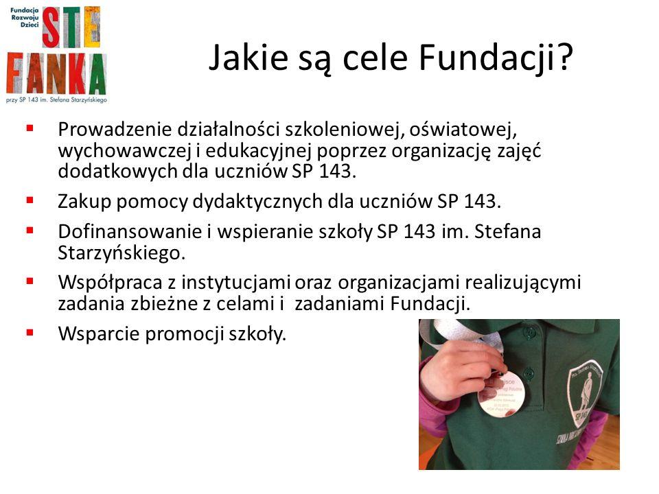Jakie są cele Fundacji.