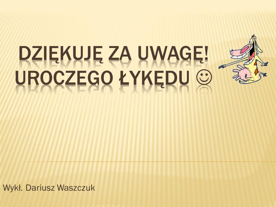 Wykł. Dariusz Waszczuk