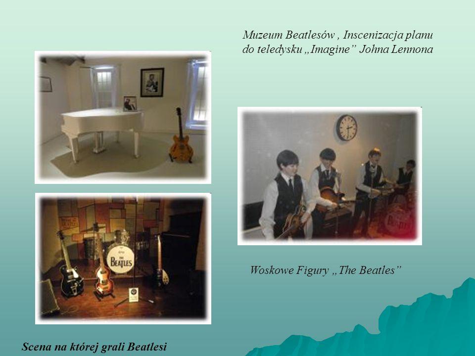 Muzeum Beatlesów, Inscenizacja planu do teledysku Imagine Johna Lennona Woskowe Figury The Beatles Scena na której grali Beatlesi