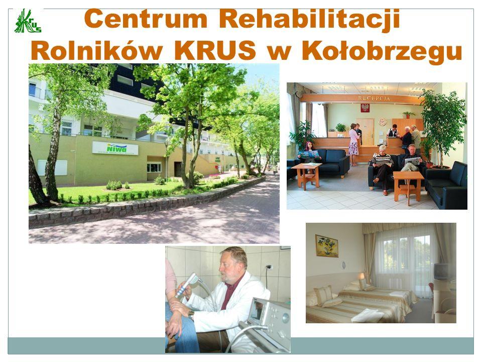 Centrum Rehabilitacji Rolników KRUS w Kołobrzegu www.niwa.info.pl crrkolobrzeg@krus.gov.pl