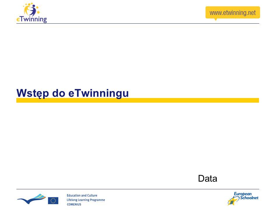 Wstęp do eTwinningu Data