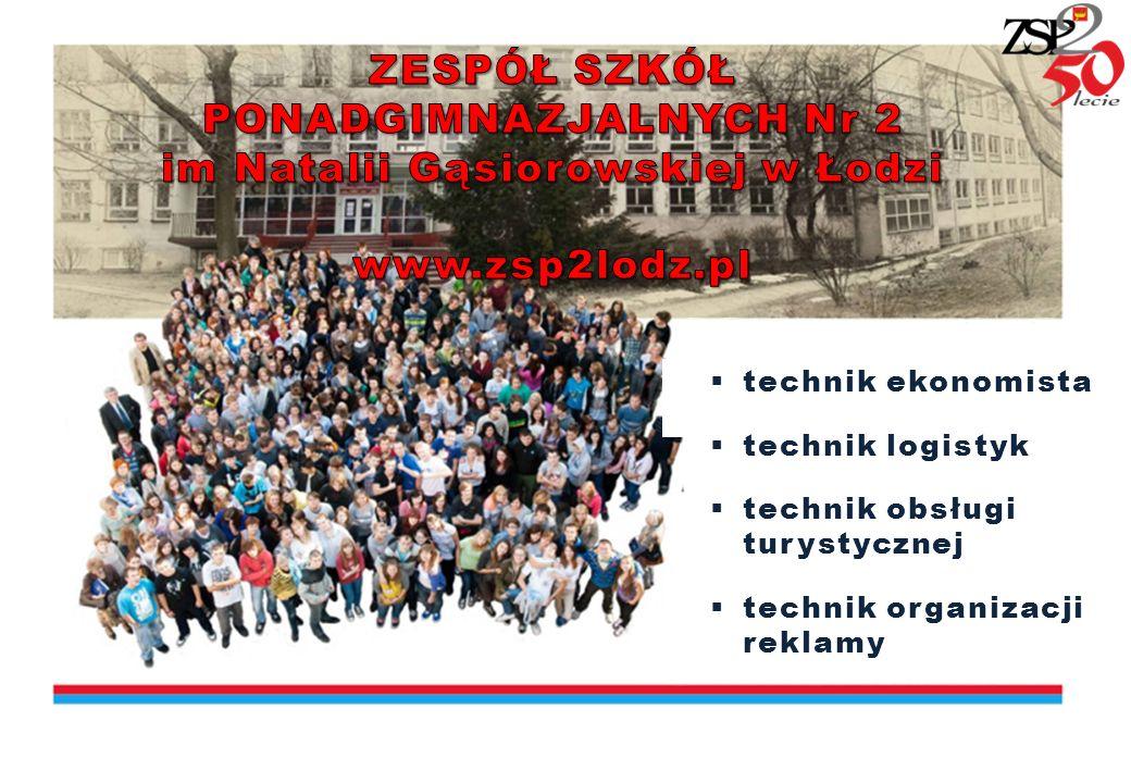 ZSP Nr 2 w Łodzi, ul Astronautów 19 www.zsp2lodz.pl facebook.com/ZSP2Ekonomik Do naszej szkoły łatwo dojechać z każdego punktu miasta.
