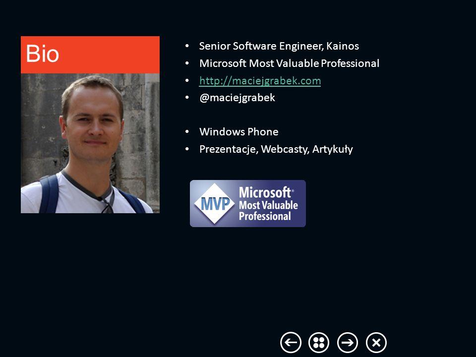 Agenda Windows 8 vs Windows Phone – Rozdzielczość ekranu – Sensory – Standardy – Narzędzia – SDK