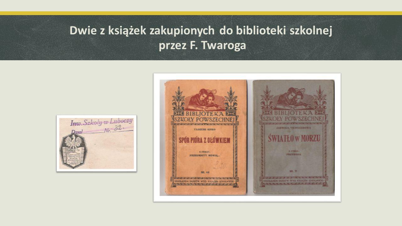 Widowisko narracyjne pt. Franciszek Twaróg – nauczyciel z Luboczy 30. stycznia 2014 r.
