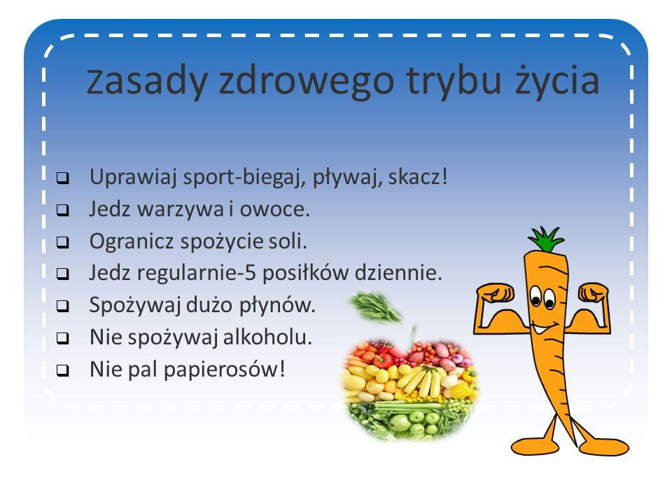 Zdrowy styl życia Zapraszamy na naszą prezentację