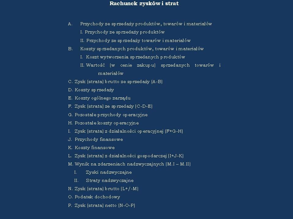 Rachunek kosztów Rachunek kosztów Wykład 2