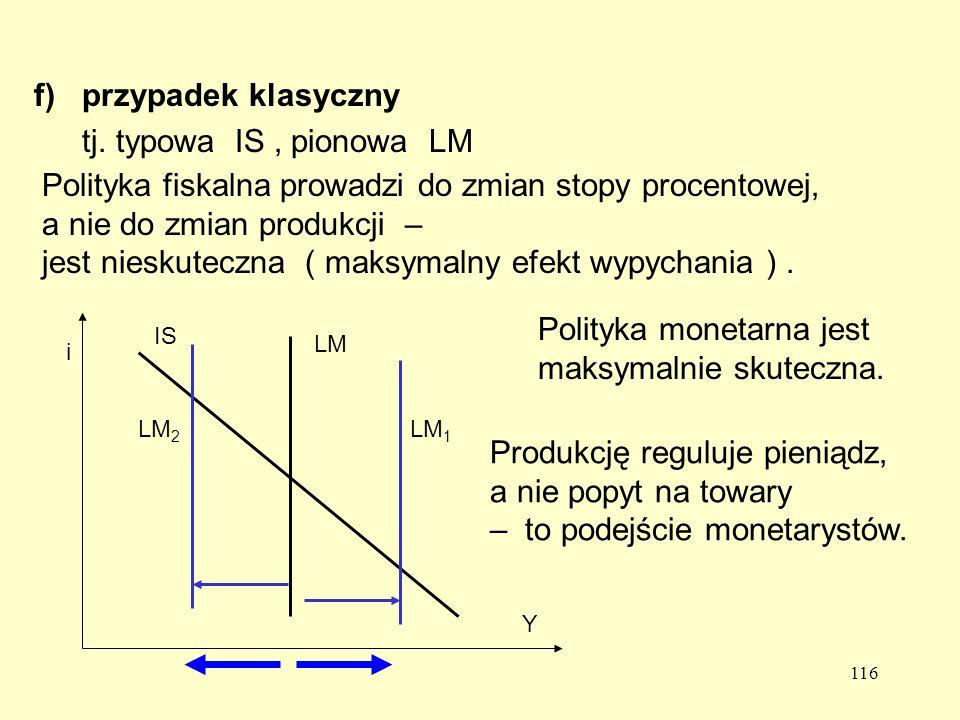 116 f)przypadek klasyczny tj.