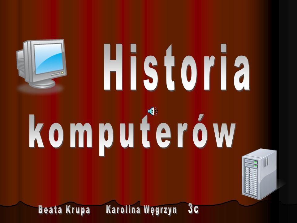 - to pierwszy w pełni działający automatyczny komputer.