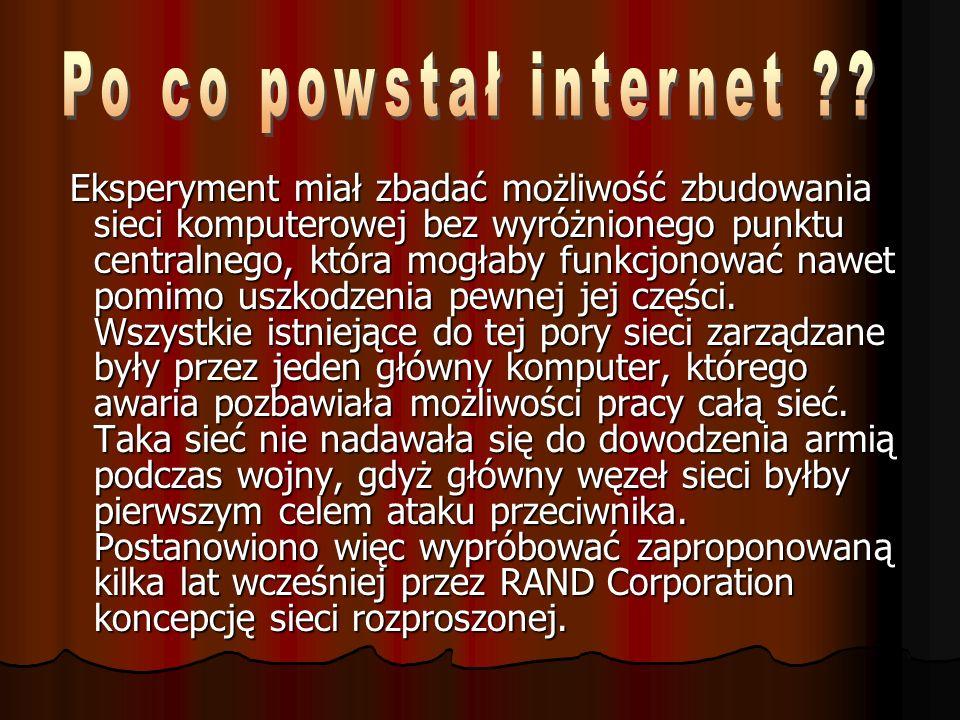 W maju 1990 Polska została przyjęta do EARN– europejskiej odnogi ogólnoświatowej sieci BITNET.