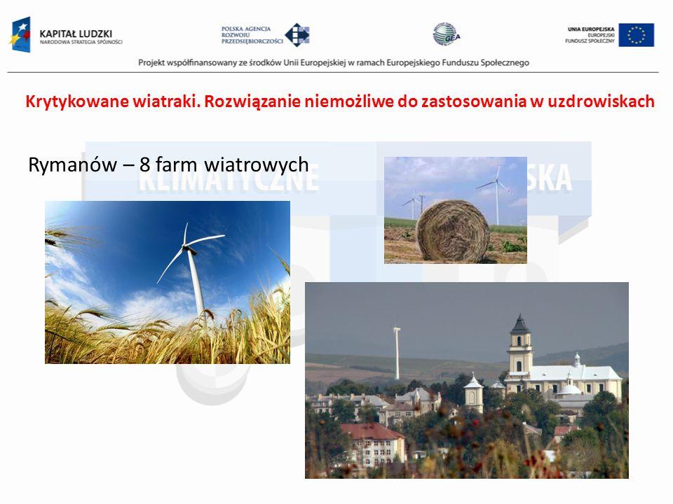 Rymanów – 8 farm wiatrowych
